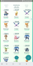 Load image into Gallery viewer, Legendary Account - 33 level - Team Mystic #61