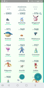 Legendary Account - 31 level - Team Mystic #67