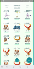 Load image into Gallery viewer, Legendary Account - 39 level - 1490 Pokemon - Valor Team #99