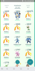 Legendary Account - 34 level - Team Mystic #70