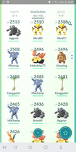 Load image into Gallery viewer, Legendary Account - 34 level - Team Mystic #87