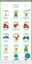 Load image into Gallery viewer, Legendary Account - 36 level - Team Valor #89