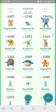 Load image into Gallery viewer, Legendary Account - 30 level - Team Mystic #105