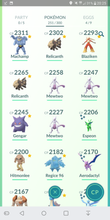Load image into Gallery viewer, Legendary Account - 33 level - Team Mystic #108