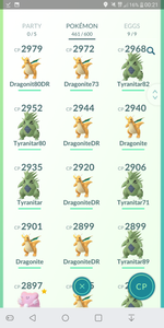 Gym Ready - 32 level - Team Valor #121