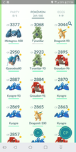 Load image into Gallery viewer, Legendary Account - 36 level - Team Valor #125