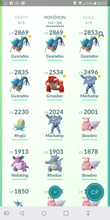 Load image into Gallery viewer, Gym Ready - 30 level - Team Mystic #126