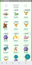 Load image into Gallery viewer, Legendary Account - 36 level - Team Valor #139