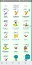 Load image into Gallery viewer, Legendary Account - 37 level - Team Mystic #141