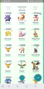 Legendary Account - 34 level - Team Mystic #146