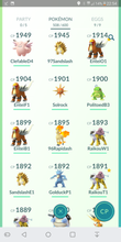 Load image into Gallery viewer, Legendary Account - 38 level - Team Mystic #147