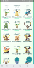 Load image into Gallery viewer, Legendary Account - 37 level - Team Mystic #152