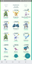 Load image into Gallery viewer, Legendary Account - 34 level - Team Mystic #153