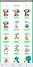 Load image into Gallery viewer, Legendary Account - 37 level - Team Instinct #155