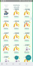 Load image into Gallery viewer, Legendary Account - 39 level - 1400 Pokemon - Team Mystic #158