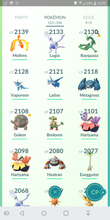 Load image into Gallery viewer, Legendary Account - 36 level - Team Mystic #170