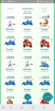 Load image into Gallery viewer, Legendary Account - 37 level - Team Mystic #171
