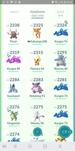 Load image into Gallery viewer, Legendary Account - 39 level - 1020 Pokemon - Team Mystic #173