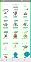Load image into Gallery viewer, Legendary Account - 33 level - Team Mystic #177
