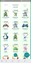 Load image into Gallery viewer, Legendary Account - 34 level - Team Mystic #178