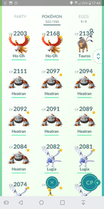Legendary Account - 34 level - Team Mystic #178
