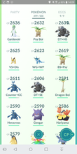 Load image into Gallery viewer, Legendary Account - 37 level - Team Mystic #180
