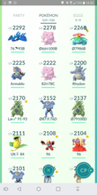Load image into Gallery viewer, Legendary Account - 34 level - Team Mystic #181