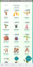 Load image into Gallery viewer, Legendary Account - 33 level - Team Mystic #190
