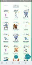 Load image into Gallery viewer, Legendary Account - 40 level - 1360 Pokemon - Valor Team #4