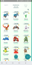 Load image into Gallery viewer, Legendary Account - 31 level - Team Mystic #201