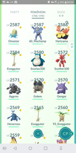 Load image into Gallery viewer, Legendary Account - 40 level - 1750 Pokemon - Team Mystic #210