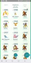 Load image into Gallery viewer, Legendary Account - 35 level - Team Valor #221
