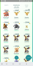 Load image into Gallery viewer, Legendary Account - 37 level - Team Instinct #223