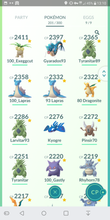 Load image into Gallery viewer, Legendary Account - 33 level - Team Mystic #224