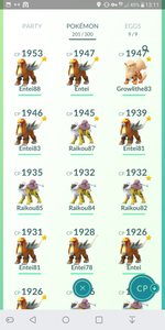 Legendary Account - 33 level - Team Mystic #224