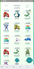 Load image into Gallery viewer, Legendary Account - 30 level - Team Mystic #225