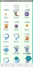 Load image into Gallery viewer, Legendary Account - 34 level - Team Mystic #229