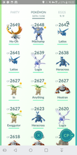 Load image into Gallery viewer, Legendary Account - 40 level - 1070 Pokemon - Team Mystic #230