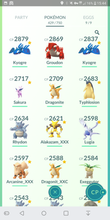 Load image into Gallery viewer, Legendary Account - 33 level - Team Mystic #232
