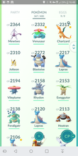 Load image into Gallery viewer, Legendary Account - 34 level - Team Valor #238
