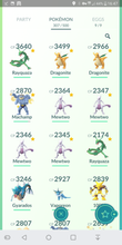 Load image into Gallery viewer, Legendary Account - 35 level - Team Mystic #245