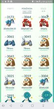 Load image into Gallery viewer, Legendary Account - 40 level - 1460 Pokemon - Team Mystic #246