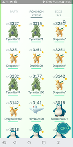 Legendary Account - 38 level - Team Mystic #262