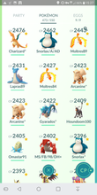 Load image into Gallery viewer, Legendary Account - 38 level - Team Mystic #262