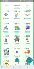 Load image into Gallery viewer, Legendary Account - 32 level - Team Mystic #272