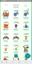 Load image into Gallery viewer, Legendary Account - 32 level - Team Mystic #276