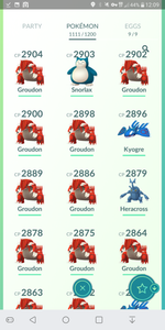 Legendary Account - 37 level - Team Mystic #278