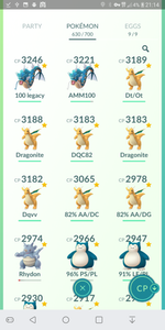 Gym Ready - Level 33 Account