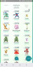 Load image into Gallery viewer, Legendary Account - 33 level - Team Mystic #308