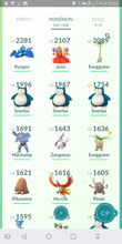 Load image into Gallery viewer, Legendary Account - 31 level - Team Mystic #315
